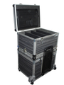 Heavy-Duty Light-Duty Maatkoffer Custommade Vakwerk Transport 19inch Audio Video Licht